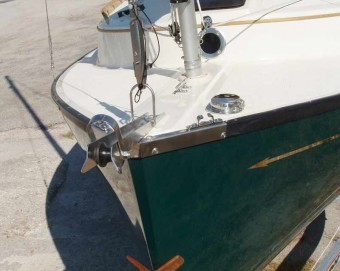 Sun Cat anchor roller package - Photo of Com-Pac Sun Cat sail boat