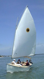 Compac Suncat Day Sailer - Photo of Com-Pac Sun Cat Daysailer sail boat
