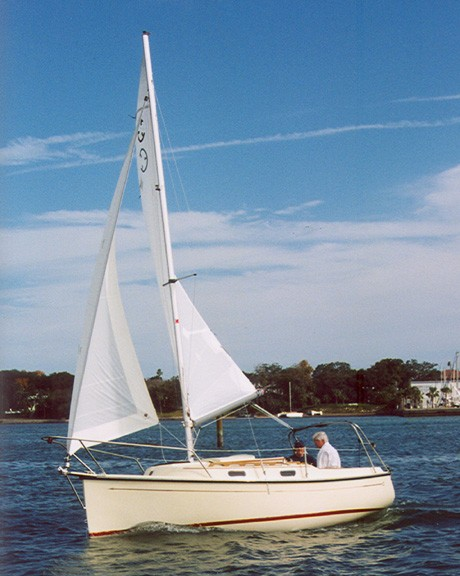 Com-Pac Eclipse Sailing - Photo of Com-Pac Eclipse sail boat