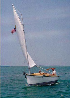 Com-Pac Horizon Cat Diesel under sail - Photo of Com-Pac Horizon Cat Diesel sail boat