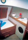Com-Pac Horizon Cat Diesel molded head sink - Photo of Com-Pac Horizon Cat Diesel sail boat