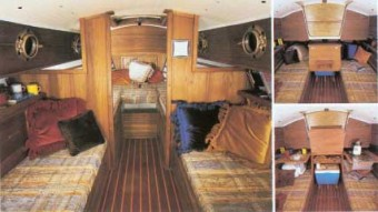 Com-Pac 23 interior - Photo of Com-Pac 23/4 sail boat
