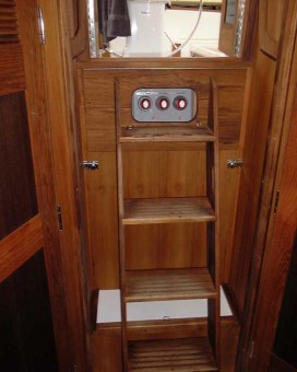 Com-Pac 35 companionway steps - Photo of Com-Pac 35 sail boat