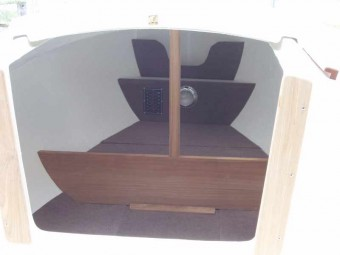 View in Companionway - Photo of Com-Pac Legacy sail boat