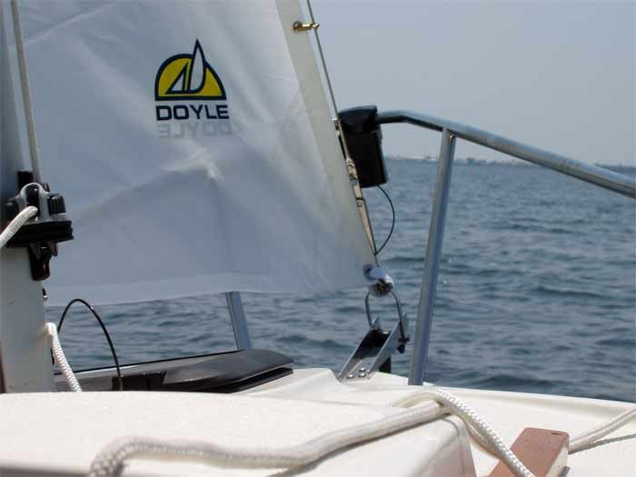 On board Com-Pac Legacy under sail - Photo of Com-Pac Legacy sail boat