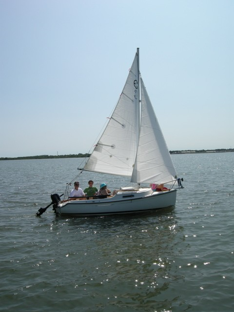 ComPac Legacy under sail - Photo of Com-Pac Legacy sail boat
