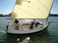 - Photo of Com-Pac Horizon Day Cat sail boat